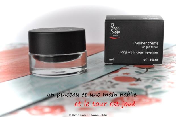 Eyeliner crème longue tenue - Collection Serenity de Peggy Sage