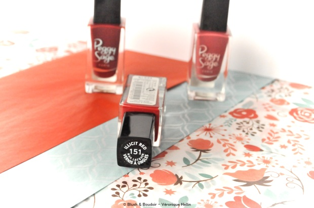Vernis à ongles - Collection Serenity de Peggy Sage