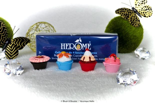 Baumes ) lèvres Cupcake - Hérôme